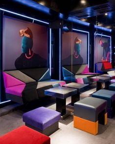 Club MUSÉE is Madrid's fresh take on what night clubs could be — a combination art gallery and night club, but both with a sharp, trendy edge.