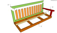 Bench Swing Plans | Free Garden Plans - How to build garden projects