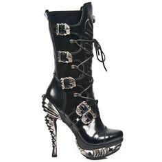 New Rock M.MAG006-C2 [M.MAG006-C2] : Dark Moon Footwear, Gothic Shoes | Gothic Boots | Alternative Footwear | Steampunk