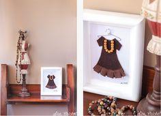 cuadros vestidos miniatura