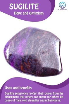 Sugilite meaning Sugilite crystals meanings, how to use crystals , sugilite healing crystals benefits. Sugilite meaning Sugilite crystals meanings, how to use crystals , sugilite healing crystals benefits. Crystal Guide, Crystal Magic, Crystal Healing Stones, Stones And Crystals, Quartz Crystal, Healing Crystal Jewelry, Gem Stones, Minerals And Gemstones, Rocks And Minerals