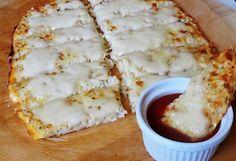 Mozzarellás karfiol-lepénykenyér