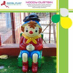 Noody Dustbin  #royalplayequipment #childrensattraction #dustbin #playground