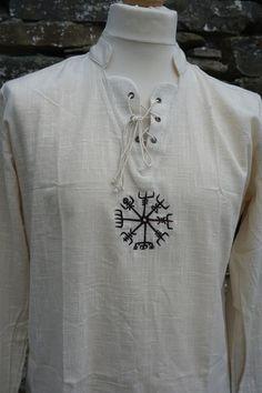 Vikings, Viking Shield, Vegvisir, Ragnar, Kurta Designs, Mens Fashion, Fashion Outfits, Unique Outfits, Different Fabrics