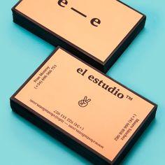 Creative business card for el estudio™