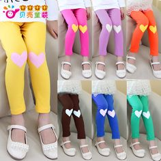 Aliexpress.com : Buy 2014 spring and autumn candy color girls long trousers child clothing legging kz 0774 on Kids Fashion Clothing - Worldw...