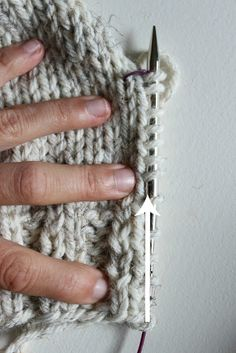 luvinthemommyhood: Picking Up Stitches Tutorial with Guest Jane Richmond