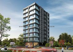 Vasıf Bey Apartmanı Projesi, Görselleştirme Çalışması. Proje Müellifi: Mimari Tasarım Grubu