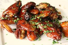 Friday Night Spicy Molasses Wings are easy to make - Crosby's Molasses