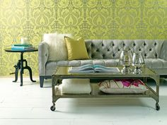 Tufted chic furniture