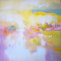 Landscape No. 18 June 19 by Alyn Carlson, via Flickr#abstract_landscapes#oilpainting