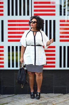 Plus Size stripes & lines