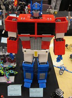 LEGO - Brickcon : Transformers | Optimus Prime