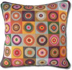 Jolly Red Magic Circles Tapestry Kit