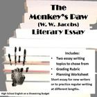 foreshadowing in the monkey paw essays
