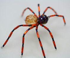 "Beading the ""Bead World"" Way: Beaded Spider Tutorial"