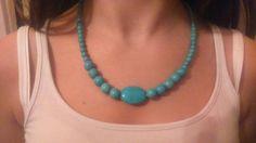 Short handmade necklace