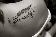 feather tattoos | Feather Tattoos photo Hannah Scotts photos - Buzznet