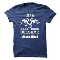 I Love [SPECIAL] DELORME Life time member-FE3CC0 Shirts & Tees
