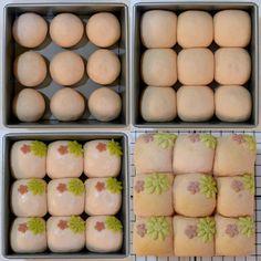 Baking Buns, Bread Baking, Japanese Milk Bread, Bread Packaging, Bread Art, Sweet Buns, Steamed Buns, Tasty, Yummy Food