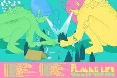 Flaming Lips 2010 Summer Tour Poster / $30 / FlamingLips.com