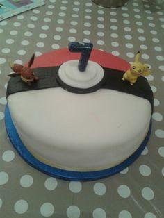 Easy Pokemon Birthday Cake