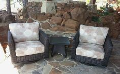 orbetello swivel rocker club chairs by ancient mosaics enjoy your