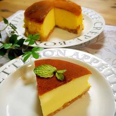 ただ混ぜて焼くだけ☝️失敗なしのチーズケーキ きび砂糖の甘さ大好きー(ノ´∀`)ノ - 192件のもぐもぐ - チーズケーキ by misawa