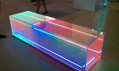 Dichroic Glass in interior - Google Search