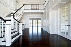 Hamptons Foyer-Farrell Construction
