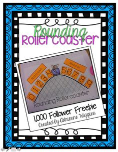 Only 9 more followers to unlock a rounding rollercoaster freebie for everyone!