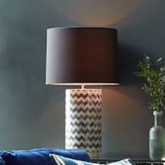 Chevron Table Lamp