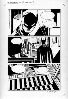 Darwyn Cooke - New Frontier Batman