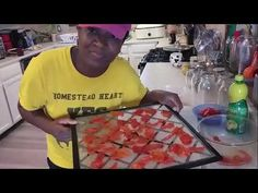 How To Make TOMATO POWDER From TOMATO SKINS - YouTube Dehydrated Food, Preserves, Homestead, Powder, Journey, Canning, Youtube, How To Make, Foods