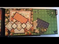 How to make an 8 x 8 mini album from start to finish part 2B by Anne Rostad