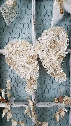Sweet Shabby Chic Valentines Day Decoration Ideas 17