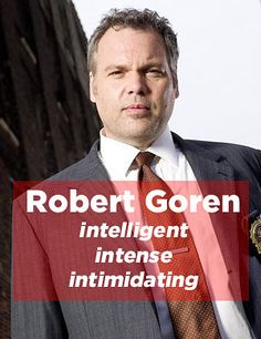 """Which """"Law And Order"""" Detective Are You...I got Goren!!!  LOVE him ❤️"""