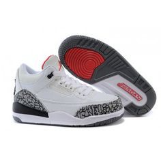 Find Kids Jordan 3 White Cement-White/Fire Red-Cement Grey-Black For Sale online or in Pumarihanna. Shop Top Brands and the latest styles Kids Jordan 3 White Cement-White/Fire Red-Cement Grey-Black For Sale of at Pumarihanna. Nike Kids Shoes, Jordan Shoes For Kids, Jordan Basketball Shoes, New Jordans Shoes, Michael Jordan Shoes, Kids Jordans, Air Jordan Shoes, Kid Shoes, Cheap Jordans