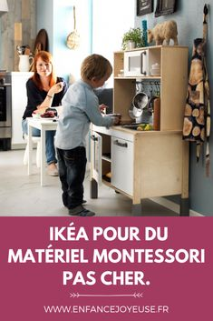 Choose IKÉA for inexpensive Montessori hardware. Ikea Montessori, Montessori Education, Maria Montessori, Micro Creche, Home Schooling, Wood Toys, Kids And Parenting, Childhood, Children