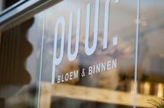 Puur Bloem & Binnen Company Logo, Logos, Logo