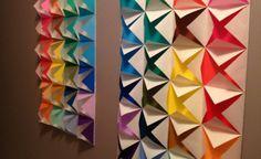 O origami está de volta - DECORAÇÃO