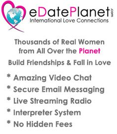 http://edateplanet.com/  Thousand of women that are authentic need to day people from all around th earth. Without hesitation the top issues inluding, safe incredible movie chats, mail message, no hidden costs live-streaming radio and dropped of stuf is presented by our website. A very important thing is it can definitely transform your daily life and the fact that it is proven to work. Just try and see the variation.