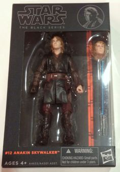 Hasbro Star Wars Black Series 6 Inch Action Figure Anakin Skywalker #12  #Hasbro