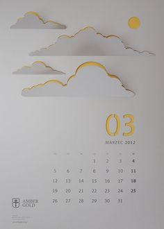 CUT OUT / wall calendar