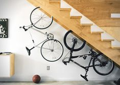 Secure & Stylish Home Bike Storage! Compact Wall Rack for Any Bike Type... http://velodomeshelters.com/