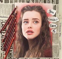 Hannah Baker fan art