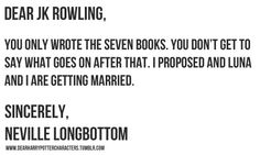 heck yes. this is the only problem i have with the books. in my mind neville and luna live happily ever after forever.