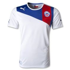 Shop official Chile soccer jerseys at World Soccer Shop. Show your devotion for La Roja in authentic Chile soccer shirts. World Soccer Shop, Soccer Shirts, Rest, Outdoors, Clothes, Shopping, Amazon, Products, Sport