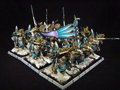 Jay's Wargame Painting: High Elves Silver Helms / Hochelfen Silberhelme