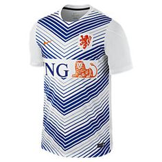 Netherlands Squad Pre-Match Men s Soccer Jersey. Nike Store Training Tops f6d0f8e79